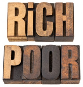 rich poor middle class