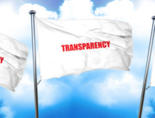 Transparency:  Welcome To The Future